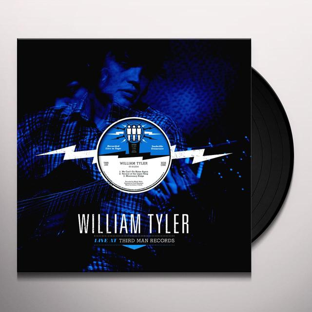 William Tyler LIVE AT THIRD MAN RECORDS Vinyl Record