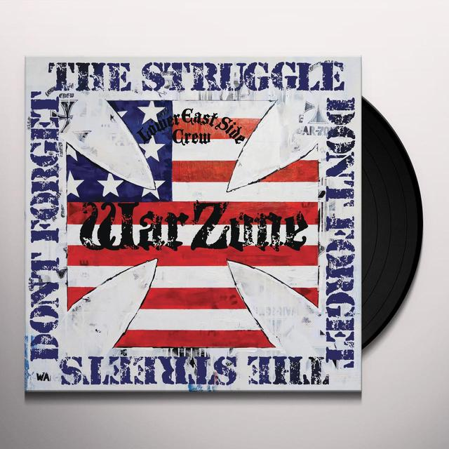 Warzone DON'T FORGET THE STRUGGLE DON'T FORGET THE STREETS Vinyl Record