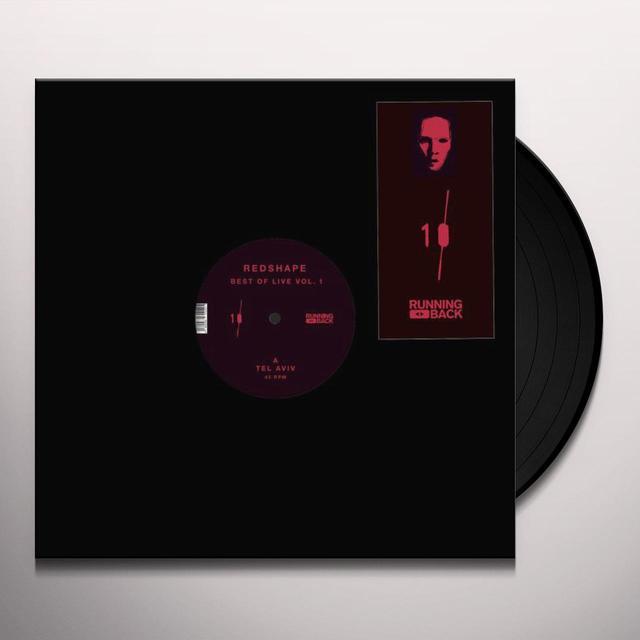 Redshape BEST OF LIVE 1 Vinyl Record