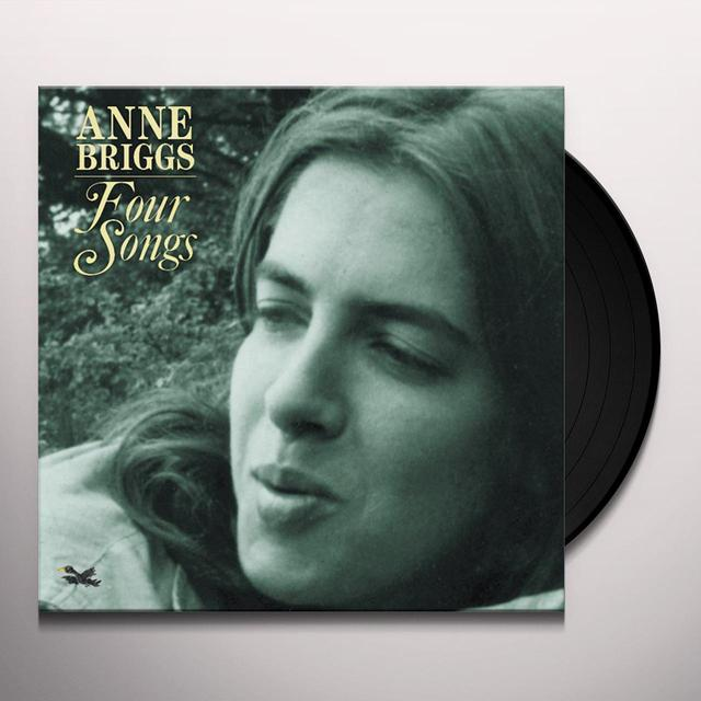 Anne Briggs FOUR SONGS Vinyl Record