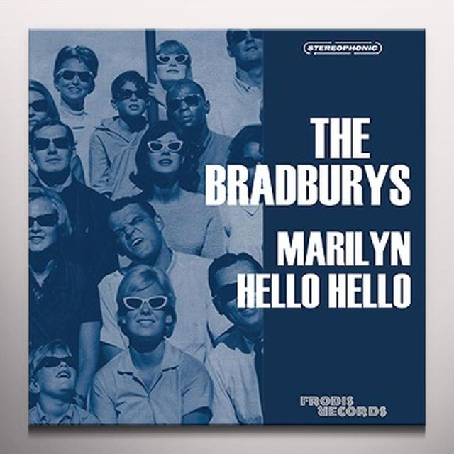 BRADBURYS MARILYN Vinyl Record - Blue Vinyl, Limited Edition, Digital Download Included