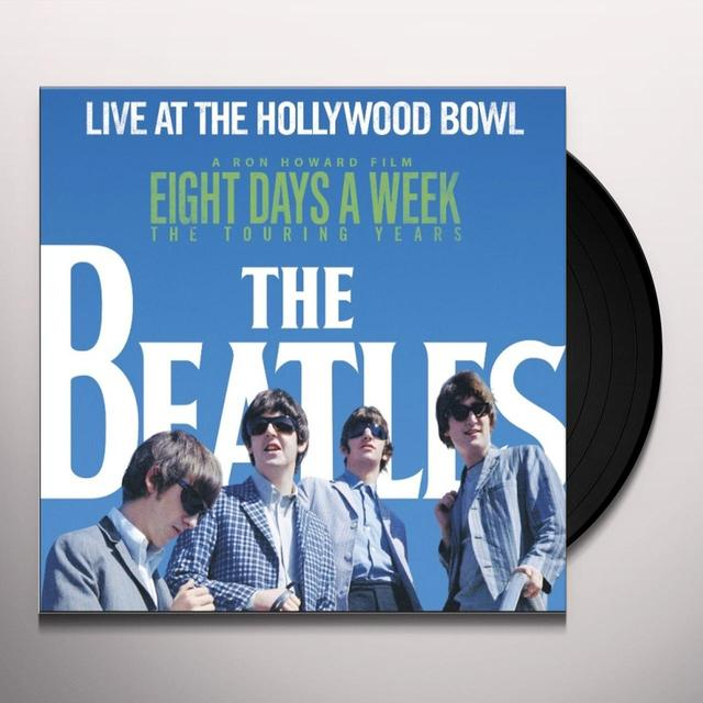 The Beatles LIVE AT THE HOLLYWOOD BOWL Vinyl Record