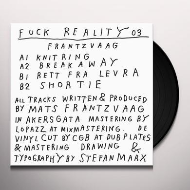 FRANTZVAAG FUCK REALITY 03 Vinyl Record