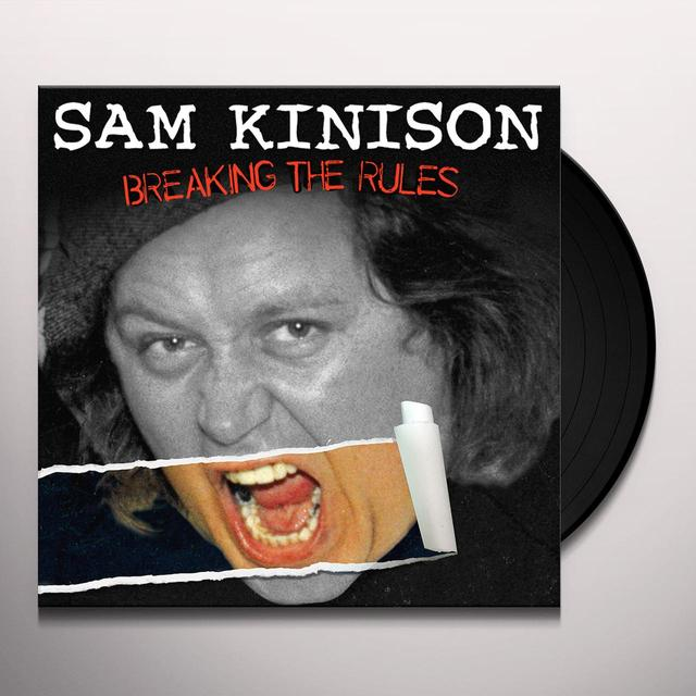 Sam Kinison BREAKING THE RULES Vinyl Record - Digital Download Included