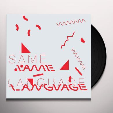 Tim Burgess / Peter Gordon SAME LANGUAGE DIFFERENT WORLDS Vinyl Record