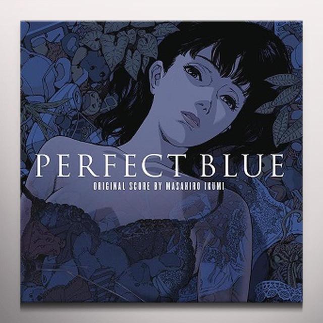 Masahiro Ikumi PERFECT BLUE / O.S.T. Vinyl Record - Blue Vinyl, Gatefold Sleeve, Limited Edition