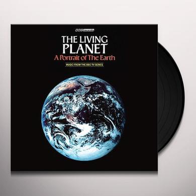Elizabeth Parker LIVING PLANET / O.S.T. Vinyl Record