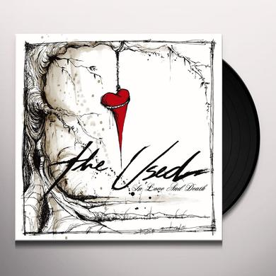 The Used IN LOVE & DEATH Vinyl Record - Gatefold Sleeve, Digital Download Included