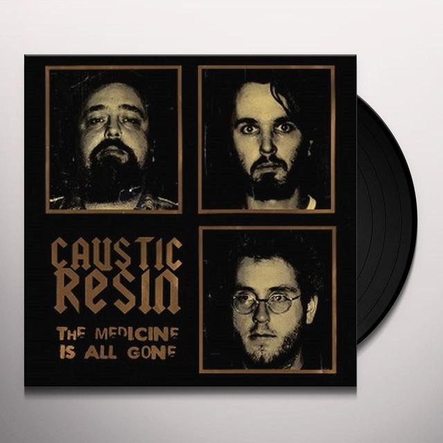 Caustic Resin THE MEDICINE IS ALL GONE Vinyl Record - Gatefold Sleeve, Poster, Remastered