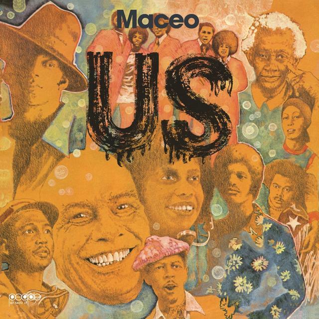 Maceo Parker US Vinyl Record