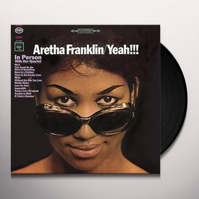 Aretha Franklin YEAH Vinyl Record