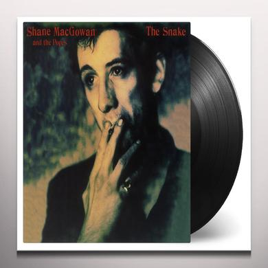 Shane Macgowan & The Popes SNAKE Vinyl Record - Green Vinyl, Limited Edition, 180 Gram Pressing