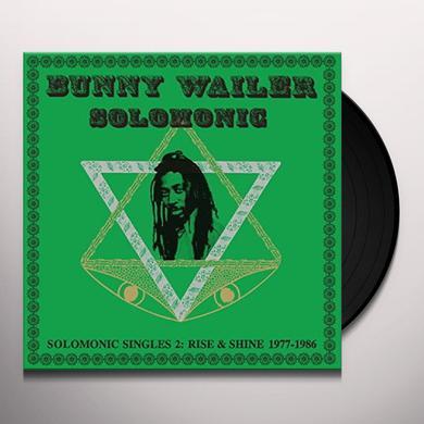 Bunny Wailer SOLOMONIC SINGLES 2: RISE & SHINE 1977-1986 Vinyl Record