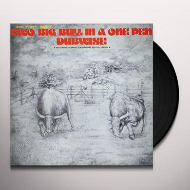 King Tubby's TWO BIG BULL IN A ONE PEN Vinyl Record