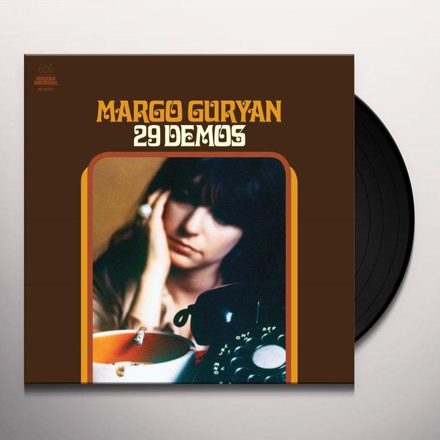 Margo Guryan 29 DEMOS Vinyl Record - Gatefold Sleeve