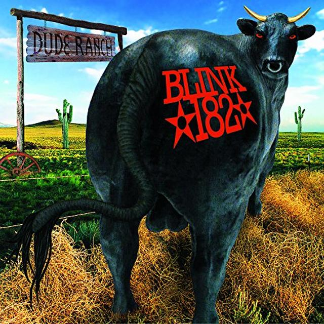 Blink-182 DUDE RANCH Vinyl Record - Colored Vinyl, Gatefold Sleeve, Limited Edition