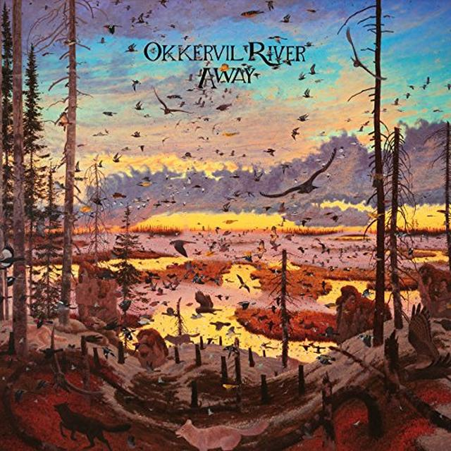 Okkervil River AWAY Vinyl Record
