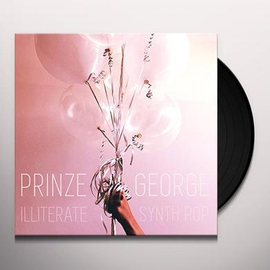 Prinze George ILLITERATE SYNTH POP Vinyl Record