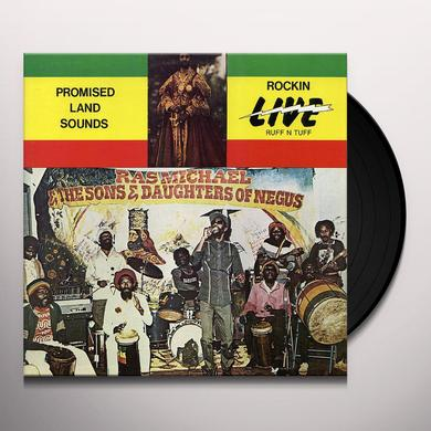 Ras Michael PROMISED LAND SOUNDS Vinyl Record