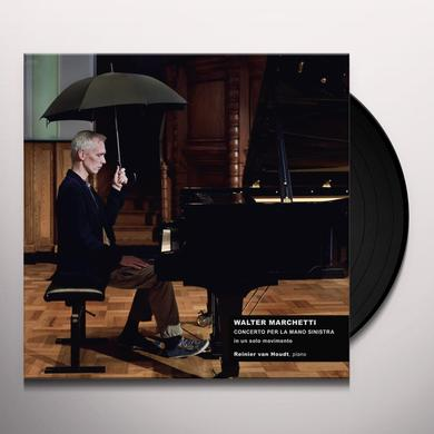 Walter Marchetti CONCERTO FOR THE LEFT HAND IN ONE MOVEMENT Vinyl Record