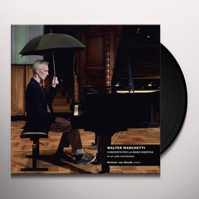 Walter Marchetti CONCERTO FOR THE LEFT HAND IN ONE MOVEMENT Vinyl Record