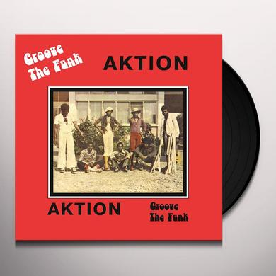 AKTION GROOVE THE FUNK Vinyl Record