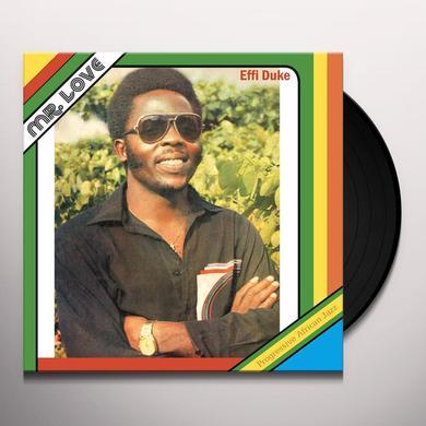 Effi Duke & Love Family MR. LOVE Vinyl Record