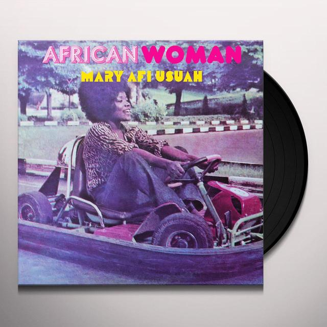 Mary Afi Usuah AFRICAN WOMAN Vinyl Record