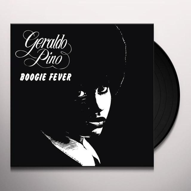 Geraldo Pino BOOGIE FEVER Vinyl Record