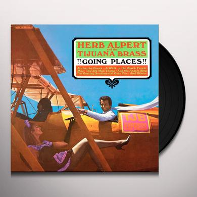 Herb Alpert & Tijuana Brass GOING PLACES Vinyl Record - 180 Gram Pressing, Digital Download Included