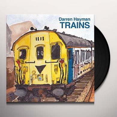 Darren Hayman TRAIN SONGS Vinyl Record - w/CD, Picture Disc