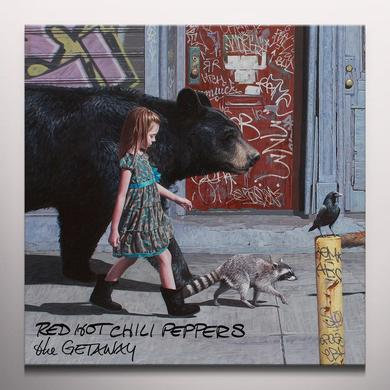 Red Hot Chili Peppers GETAWAY Vinyl Record - Colored Vinyl, Limited Edition, Pink Vinyl