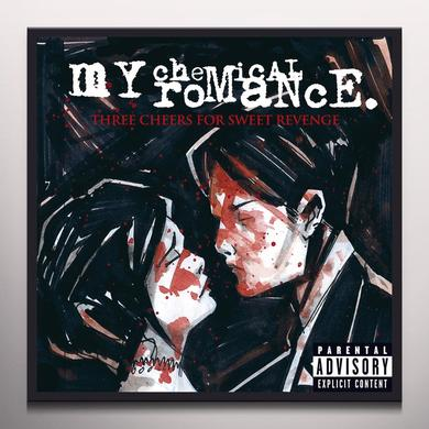 My Chemical Romance THREE CHEERS FOR SWEET REVENGE Vinyl Record - Colored Vinyl, Limited Edition, Pink Vinyl
