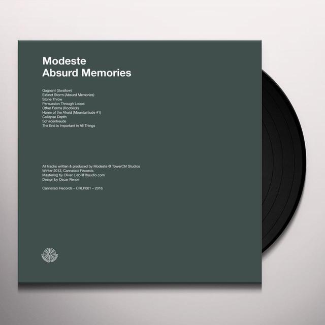 MODESTE ABSURD MEMORIES Vinyl Record