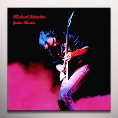 Michael Schenker GUITAR MASTER Vinyl Record - Limited Edition, Red Vinyl