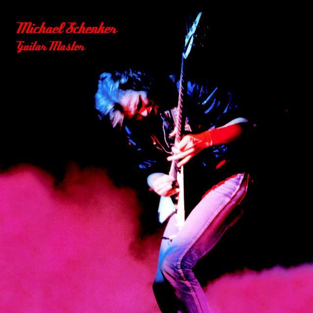 Michael Schenker GUITAR MASTER Vinyl Record - Limited Edition, Red Vinyl