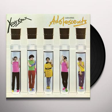 X-Ray Spex GERMFREE ADOLESCENTS Vinyl Record - Colored Vinyl, Limited Edition, Pink Vinyl