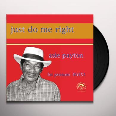 Asie Payton JUST DO ME RIGHT Vinyl Record