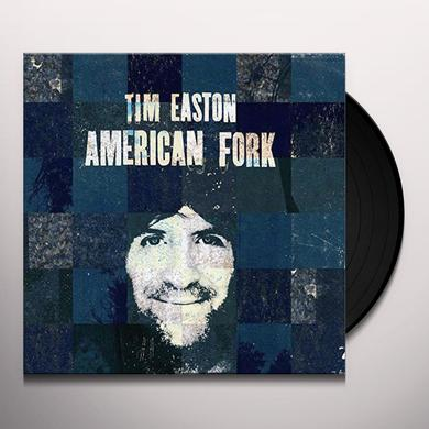 Tim Easton AMERICAN FORK Vinyl Record
