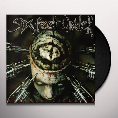 Six Feet Under MAXIMUM VIOLENCE Vinyl Record