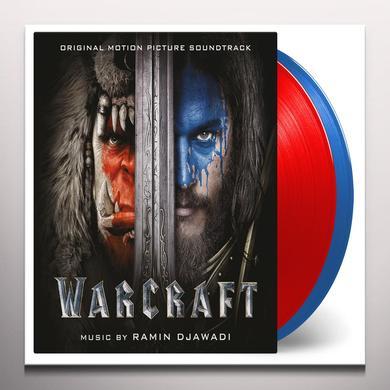 Ramin Djawadi WARCRAFT / O.S.T. Vinyl Record - Blue Vinyl, Gatefold Sleeve, Limited Edition, 180 Gram Pressing, Red Vinyl