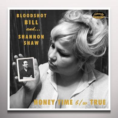 Bloodshot Bill / Shannon Shaw HONEY TIME Vinyl Record - Limited Edition, Pink Vinyl