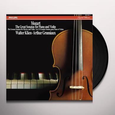 Walter Klien / Arthur Grumiaux MOZART: GREAT SONATAS FOR PIANO & VIOLIN (HK) Vinyl Record