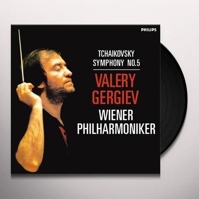 Tchaikovsky / Valery Gergiev / Wiener Philharmonik TCHAIKOVSKY: SYMPHONY 5 Vinyl Record