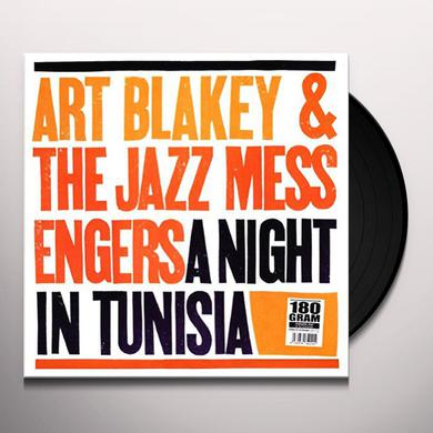 Art Blakey & The Jazz Messengers NIGHT IN TUNISIA Vinyl Record - Italy Import