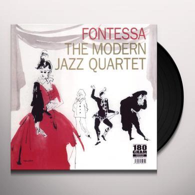 Modern Jazz Quartet FONTESSA Vinyl Record