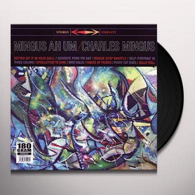 Charles Mingus MINGUS AH UM Vinyl Record - Italy Import