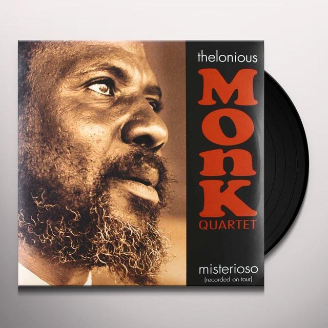 Thelonious Monk MISTERIOSO Vinyl Record - Italy Import