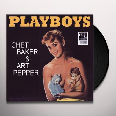 Chet Baker PLAYBOYS Vinyl Record