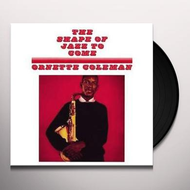 Ornette Coleman SHAPE OF JAZZ TO COME Vinyl Record - Italy Import